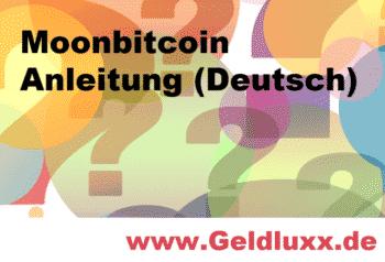 www.geldluxx.de - Moonbitcoin Anleitung Deutsch