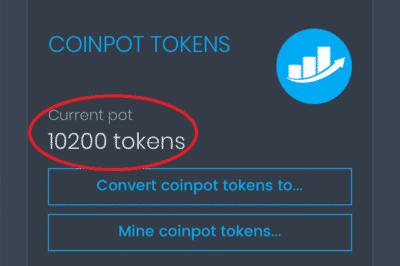 CoinPot Token Erfahrung