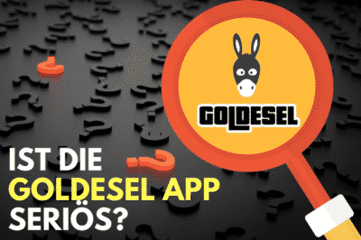 Goldesel App seriös Logo