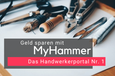 Geld sparen mit MyHammer