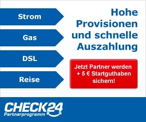 Check24 Partnerprogramm Werbung