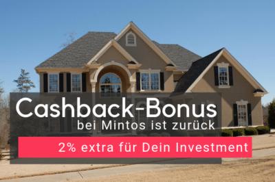 Cashback-Bonus bei Mintos