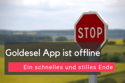 Goldesel App ist offline