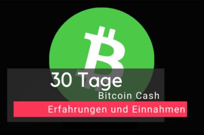 Bitcoin Cash Erfahrung